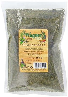 Wagner Gewürze Kräutersalz, 3er Pack (3 x 250 g) von Wagner Gewürze - Gewürze Shop