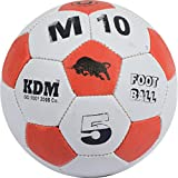 KDM M 10 Rubber Football, Size- 5 (Multi-Coloured)
