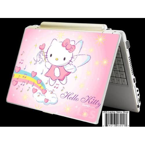 Laptop Skin Shop 15 15.6 inch Laptop Notebook Skin Sticker Cover Art Decal Fits 13.3 14 15.6 16 HP Dell Lenovo Apple Asus Acer Compaq (Free 2 Wrist Pad Included) Night Moon with Black Cat