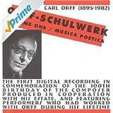 Orff-Schulwerk, Vol. 1: Musica Poetica