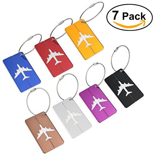 NUOLUX Travel Luggage Tags Suitcase Luggage Bag