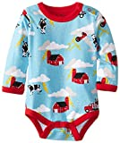 Hatley - Baby Boys Newborn Long Sleeve One Piece Storm