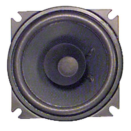 4Inch Round Replacement Automotive Speaker Male Tab 3/16Inch Positive Connection 4Ohm Impedance