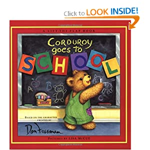 Corduroy Goes to School (Lift-the-Flap Book)