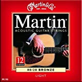 Martin 80/20 Acoustic Guitar Strings (12 String) - Bronze (Light, .012 - .054)