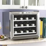 Wine Cellar - Twelve Bottle Stainless Steel Finish by Wine Enthusiast
