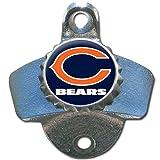 NFL Chicago Bears Wall Bottle Opener