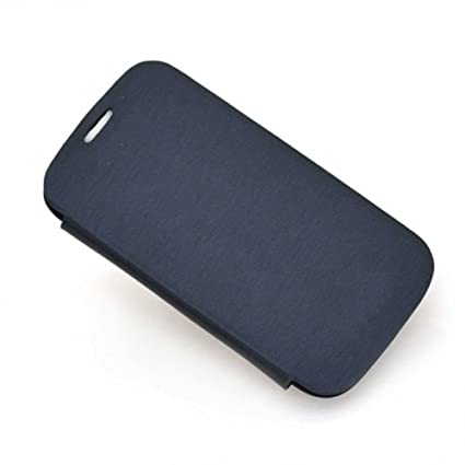 Flip Cover For Micromax A47 Bolt  Black  Teflon Bell Series available at Amazon for Rs.137