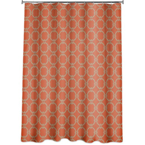 Links Peva Shower Curtain Russett Orange Fabric Shower Cutains Dot Com