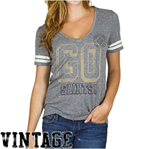 New Orleans Saints - Tailgate Juniors Jersey T-Shirt by Junk Food Clothing Co.
