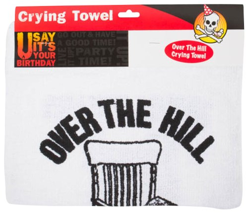 Spencers Men's Over The Hill Crying Towel Multicoloured One Size