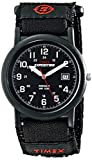 Timex Men's T40011 Expedition Camper Black Fast Wrap Velcro Strap Watch
