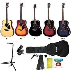 【クリップチューナー + ギタースタンド + アクセ5点付】YAMAHA/ヤマハ FG720S/FG-720S アコースティックギター/BS