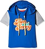 Kidsville Boys' T-Shirt (TJ1TB01_Multicolor_3 - 4 years) (Combo Pack-2)