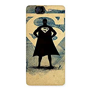 Special Day Blue Ready Multicolor Back Case Cover for Canvas Knight A350
