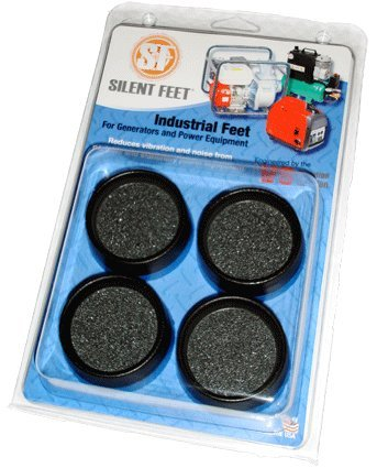 Industrial Silent Feet - Anti-vibration Pads for Generators, Air Compressors and Power Equipment