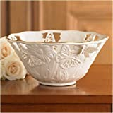 Lenox Butterflies &amp; Lace Centerpiece Bowl