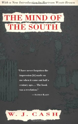 The Mind of the South, W.J. Cash