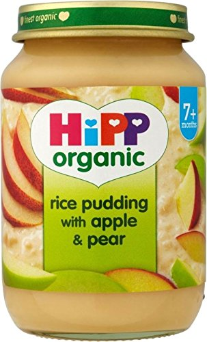 Hipp Organic Rice Pudding With Apple & Pear 7Mth+ (190G)