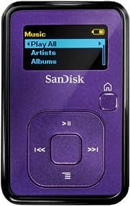 SanDisk SDMX18-004G-E46I Sansa Clip+ MP3 Player - 4 GB, Indigo