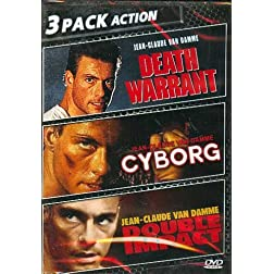 Death Warrant/Double Impact/Cyborg