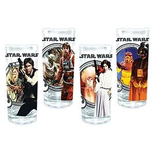 Vandor Star Wars Glasses, Set of 4