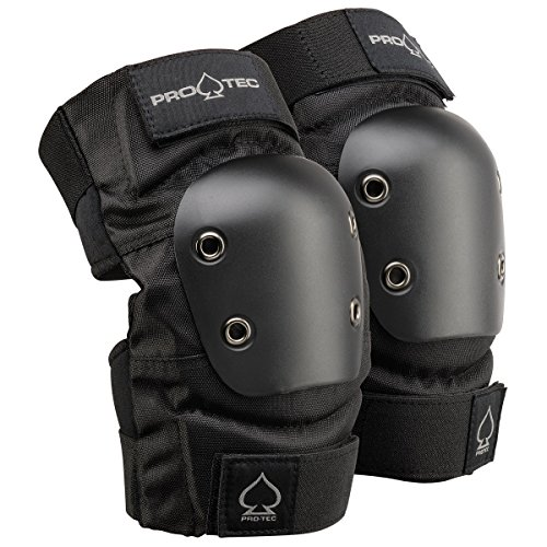 PROTEC Original Street Gear Elbow Pads, Set of 2, Black, Medium