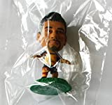 Eduardo da Silva MicroStars Series 18 figure - Arsenal Away Kit - Green Base MC11911 - similar to SoccerStarz