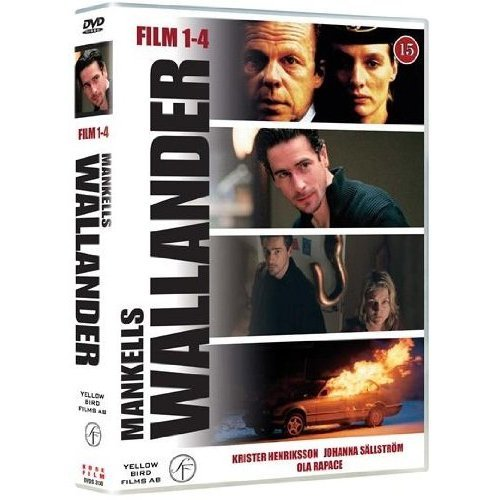 Wallander Series 1-4 - 4-DVD Box Set ( Innan frosten / Byfånen / Bröderna /Mörkret ) ( Wallander 1 - Before The Frost / Wallander 2 - The Village Idiot / Wallander 3 - Brothers / Wallander 4 - The Darkness )