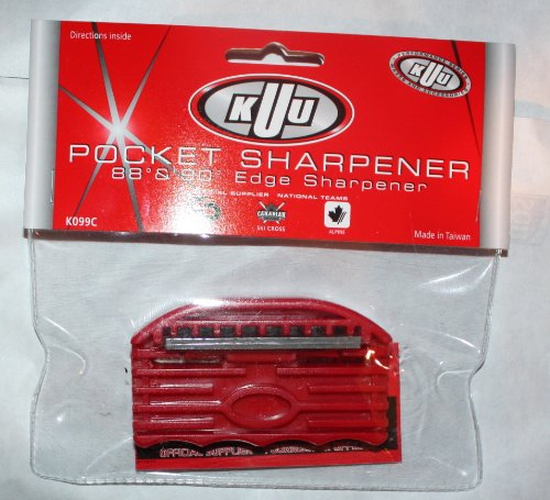 ski snowboard edge sharpener KUU Canada Ski Pocket Sharpener New