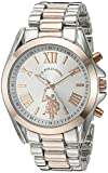 U.S. Polo Assn. Women's Quartz Metal and Alloy Automatic Watch, Color:Two Tone (Model: USC40118)