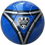 Speed Up Kick Mania Leatherite Football Size 5 Blue