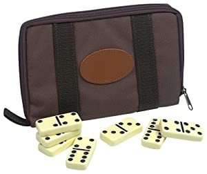 Drueke 905.00 Travel Double Six Dominoes