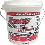 MOTOMCO Tomcat Mouse and Rat Bromethalin Bait Chunx, 4-Pound
