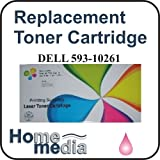 Home Media, Dell 593-10261 - Magenta Toner Cartridge for DEll Color Laser Printer models: 1320, 1320C, 1320CN, 1320DN