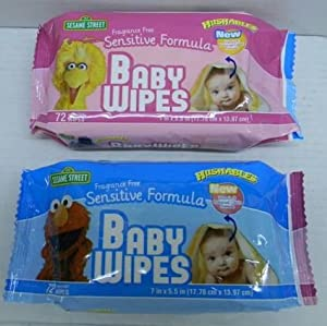 Amazon Com Hushables Sesame Street Baby Wipes Fragrance