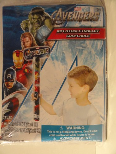 Marvel Avengers Inflatable Mallet - 1