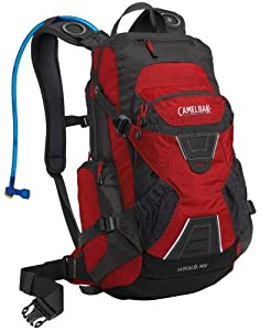 Camelbak H.A.W.G. NV 100 Oz Hydration Pack, Chili Pepper/Charcoal