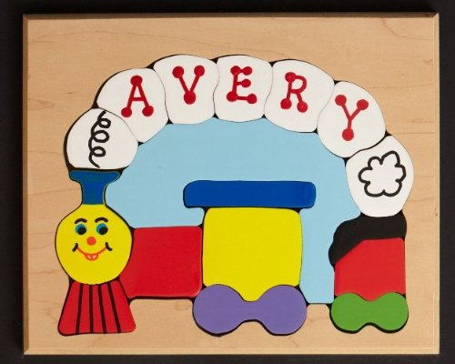 Cheap You Name It Toys Personalized Small Train Puzzle (B004X6K034)