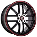 Konig Again 4 Gloss Black - 15 X 6.5 Inch Wheel