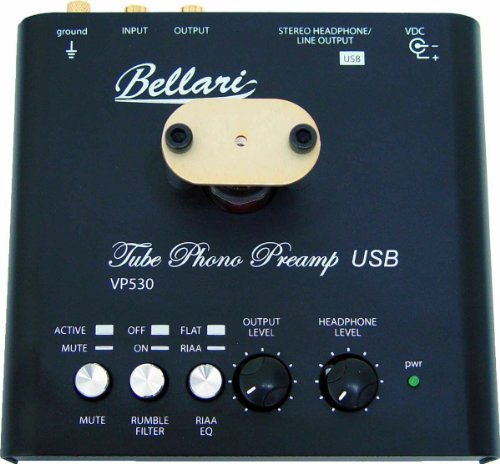 Bellari Mm Tube Phono Preamp Usb Output