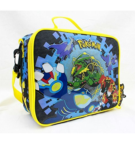 Nintendo-Pokemon-Starters-8-Canvas-Black-Insulated-Lunch-Bag