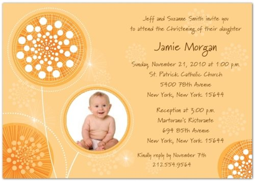 Baptism Invitations Photo front-270884