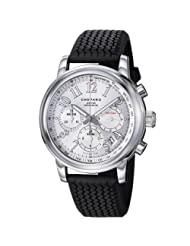 Chopard Men's 168511-3015_RBK Miglia Black Rubber Strap Watch