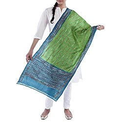 Kiara Crafts Women's Stole (kc-015_Multi_Freesize)