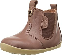 Bobux Kids Unisex Step Up Jodphur Boot (Infant/Toddler) Chocolate Boot 18 (US 2.5 Infant) M