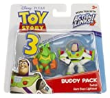 Twitch & Hero Buzz Lightyear: Toy Story 3 Action Links Mini-Figure Buddy Pack
