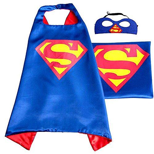 Maxwell Cosplay Superhero Dress Up Costumes Mask Costumes Kids Masks Childrens Halloween Supperman Blue