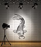 Small - Koi Carp Pond Fish Wall Sticker Graphic