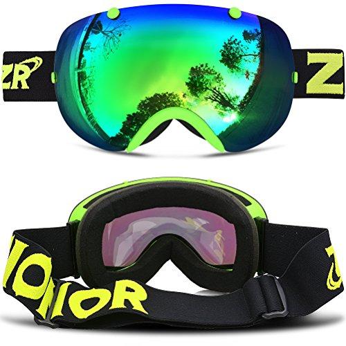 reflective snowboard goggles  ski goggles